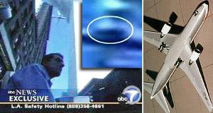 Dvojičky 11. 9. 2001 - cudzí predmet na lietadle